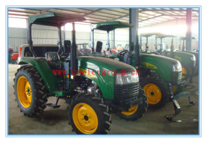 High Quality DQ554 Four Wheel Cabin Tractor, Wheeled Tractor in Agriculture, 55HP, 4x4, Luxury Cabin pictures & photos