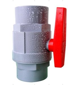 PVC Ball Valve with ABS Handle pictures & photos