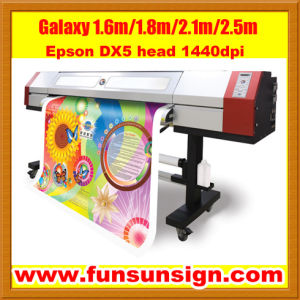 Best Seller Galaxy 1.6m Digital Printing Machine (dx5 head, high resolution 1440dpi) pictures & photos