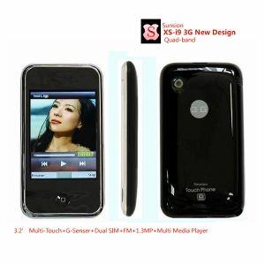 Dual SIM Dual Standby Mobile Phone (I9 New Version)