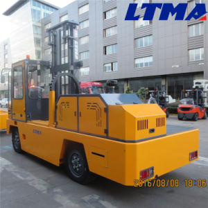 New 3 Tons Diesel Side Loader Forklift Truck for Sale pictures & photos