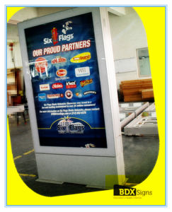 Double Sided Scrolling Signs Weatherproof Aluminum Profile for Outdoor Light Box-238# pictures & photos