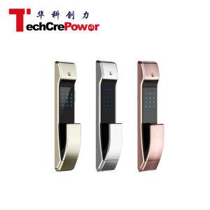 K7-8 High Security Digital Door Lock Card Electric Fingerprint Keypad Smart Home Hotel Door Lock pictures & photos