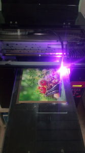 3D Multifunction UV Printer for Glass/CD/Mug/Keychain/Wood Direct Printing Machine pictures & photos