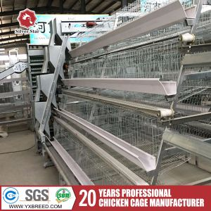 Hot Dipped Galvanized Chicken Breeding Battery Cages pictures & photos