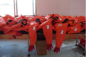 Buoyancy 150n Thermal Insulation Immersion Suit pictures & photos