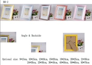 Plastic Back Open Photo Frame (BH-2) pictures & photos