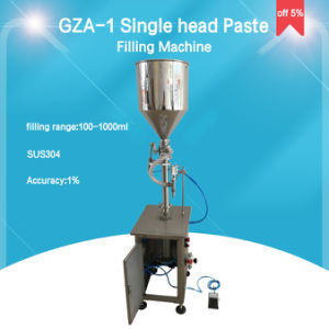 Vertical Piston Paste and Liquid Filling Machine (GZA-1) pictures & photos