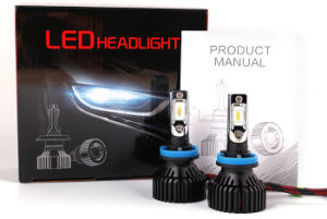 2017 Top New 6500K 8000lm 70W T8 H7 Car LED Headlight Bulb pictures & photos
