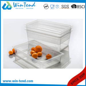 Hot Sale Certificate BPA Free Restaurant Kitchen Transparent Plastic 1/1 Size Dripping Tray pictures & photos