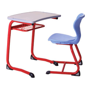 Hot Sale New Style Steel Wood School Students Desk and Chair pictures & photos