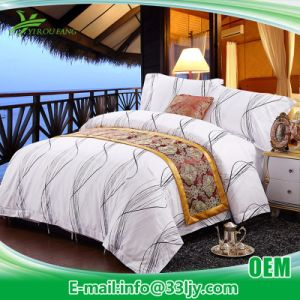 Eco Friendly Luxury Hotel Printed Duvet Cover Set pictures & photos