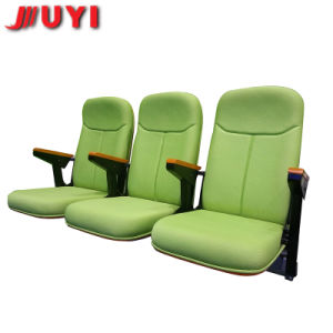 Jy-765 Portable Indoor Bleachers Manufactory Low Price Stadium Seating Chairs Retractable Telescopic Wood Bleachers pictures & photos