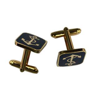 Custom Design Gold Cufflink for Men pictures & photos