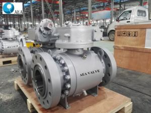 Cameron Forged Steel Split Body Side Entry Trunnion Mounted Ball Valve pictures & photos