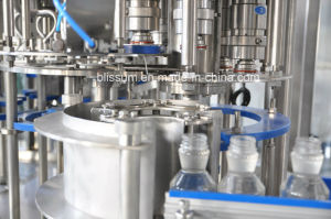 Full Automatic 3 in 1 Glass Bottle Juice Filling Machine pictures & photos