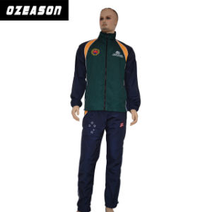Latest Design Customized Men′s Team Tracksuits with Embroiery Logo (TJ016) pictures & photos