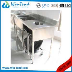 Manufactory Stainless Steel Kitchen Compartment Sink for Sale pictures & photos