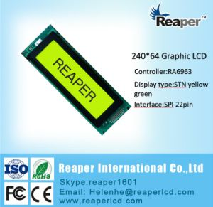 COB 240X64 Graphic LCD Display for Industrial/Medical/Equipment pictures & photos