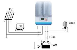 Epsolar Itracer6415ad MPPT 60A 12V/24V/36V/48V for Solar Charge Controller pictures & photos