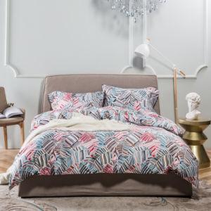 Reactive Print 100% Cotton Dobby Bedding Set 5PCS/Set pictures & photos