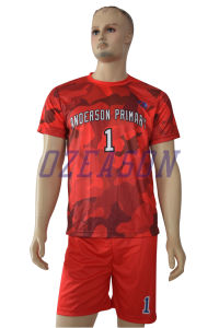 2017 Custom Sportswear Wholesale Men′s Sublimation Soccer Jersey (S001) pictures & photos