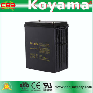 DC310-6 6V 310ah Deep Cycle AGM Storage Battery pictures & photos