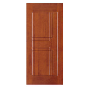 Oak Wood Interior Solid Wooden Doors with PU Painting pictures & photos