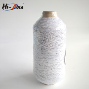Custom Made Print Logo Dyed Spandex Covered Yarn pictures & photos