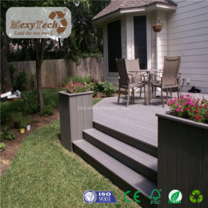 Chinese Style Outdoor Waterproof WPC Composite Decking for Garden pictures & photos