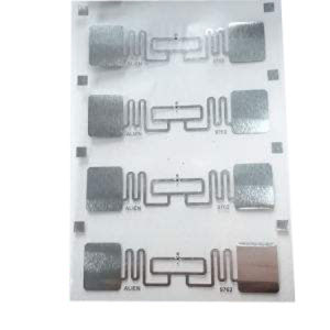UHF Impinj M4 Dry Inlay 1 860-960MHz Manufacturer RFID NFC Passive Dry Inlay pictures & photos