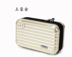 New Female Makeup Overnight Bag Wash Package ABS + PC Hard Shell Small Cosmetic Bags Travel Box pictures & photos