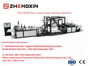 Automatic Non Woven D-Cut Bag Making Machine (zxl-b700) pictures & photos