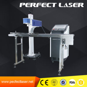 High Speed Flying CO2 Laser Marking Machine with Production Line pictures & photos