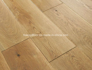 220mm Natural Oiled Wide Plank European Oak Wood Floorboards pictures & photos