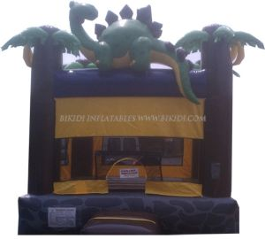 Inflatable Dinosaur Jungle Party House, Inflatable Bouncy Castle, Moonwalks B1004 pictures & photos