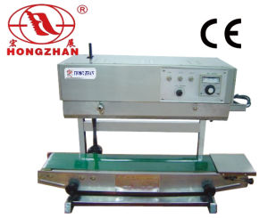 Continuous Automatic Adjustable Conveyor Seal Machine with Rise and Fall Heat Sealing Line for Stand Bag and Standing Pocket pictures & photos