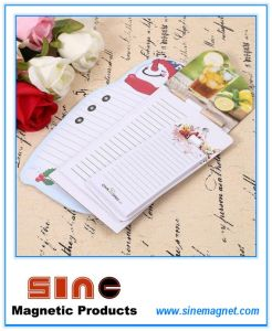 Creative Personalized Magnet Fridge Magnetic Memo Pad pictures & photos