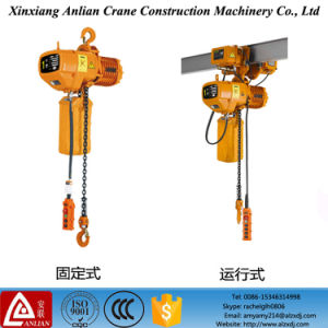 0.5 Ton Electric Hoist with Motor Trolley pictures & photos