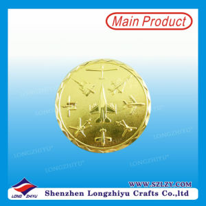 Modern Design Brass Commemorative Coin From China Supplier pictures & photos