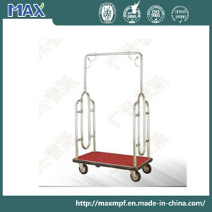 Stainless Steel Bellman Luggage Cart pictures & photos