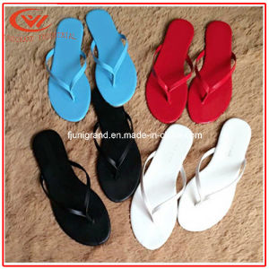Flat Leisure Women Flip Flops Fashion Beach Casual Home Slipper pictures & photos
