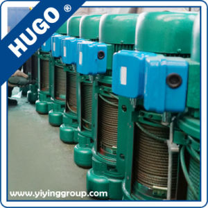 High Quality CD1 Type Electric Wire Rope Hoists Steel Cable Electric Winch pictures & photos