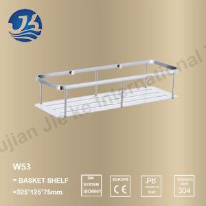 Corner Stainless Steel Bathroom Accessories Net/ Storage Rack Shelf (W53)