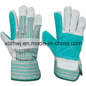 Short Welding Gloves, Safety Working Gloves, 10.5′′patched Palm Leather Gloves, Reinforced Palm Leather Working Gloves, Driver Gloves Manufacturer