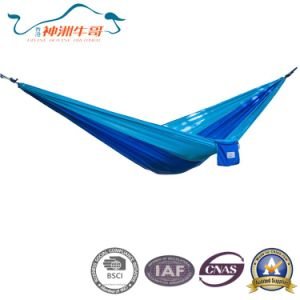 2017 New Nylon Waterproof Swing Camping Hammock pictures & photos