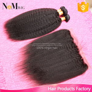Promotions! China Top Selling 130% Density Lace Frontal Closure 13X4 with Bundles pictures & photos