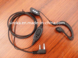 CE Certificate Walkie Talkie Earphone with Microphone pictures & photos