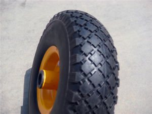"8"" PU Foam Rubber Wheel pictures & photos"