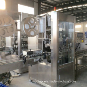 Shrink Sleeve Labeling Machine for Wine Bottle (WD-S350) pictures & photos